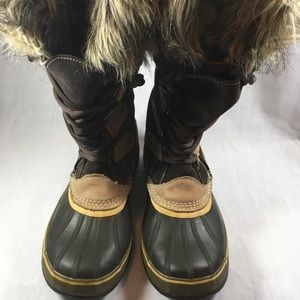 Sorel Women's Brown Winter Boots Size 10